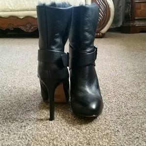Aldo Shoes - Aldo women leather ankle high heels boots